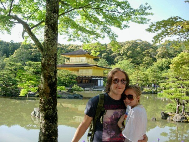 Max and my first trip together. Japan 2006.